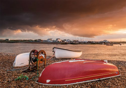 Storm over Bawdsey Quay