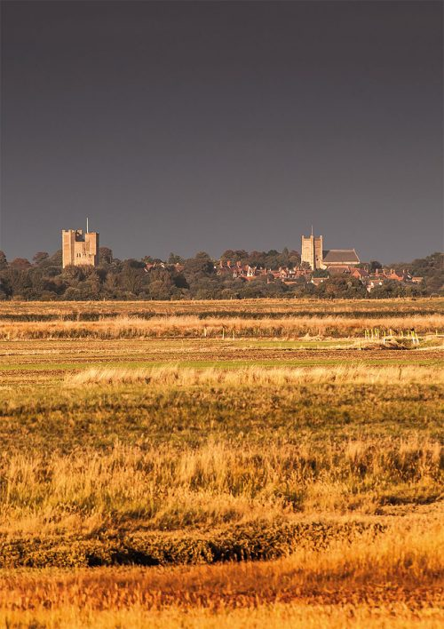 Orford from the River Ore