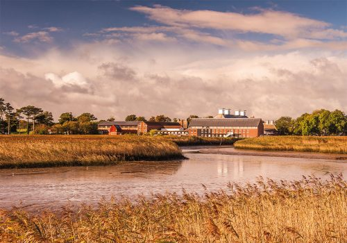 Autumn at Snape Maltings