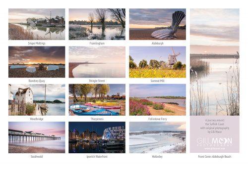 2018 suffolk coast calendar – Gill Moon Photography