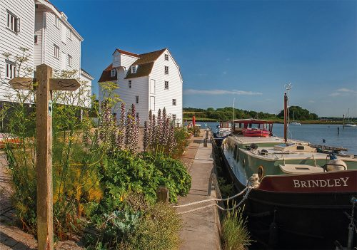Woodbridge Tidemill from the quay