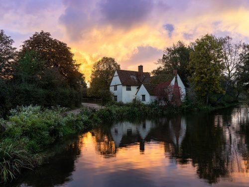 Willie Lott's Cottage by Simon Gooderham